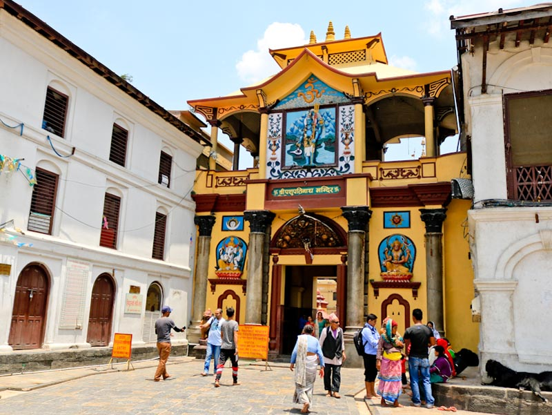 Main Gate of Pashupati